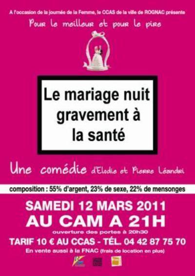 le mariage nuit gravement la sant - Le Mariage Nuit Gravement A La Sante