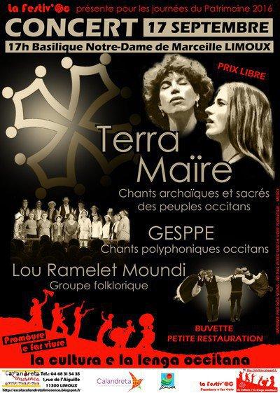 FESTIV'OC : Concerts du patrimoine culturel occitan