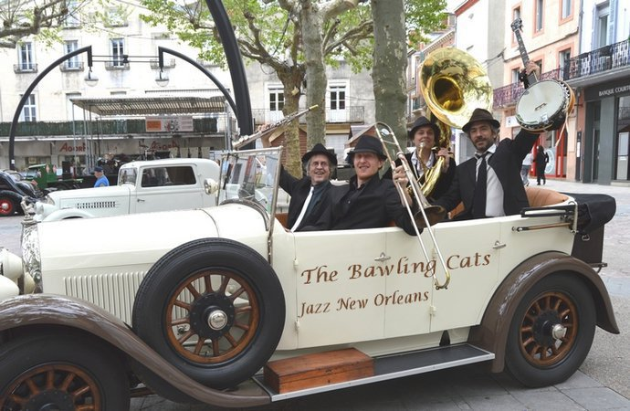 Bawling Cats jazz New Orleans