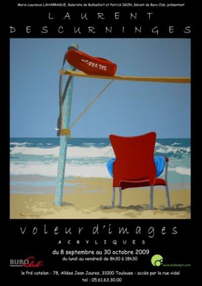 Voleur d 39 images oeuvres de laurent descurninges pr sent es par bulles d 39 art buro club for Buro services toulouse