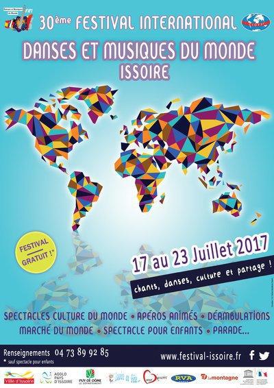 30e édition - Festival International Danses et Musiques du Monde