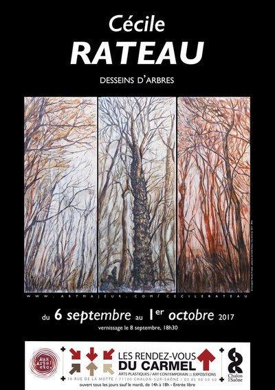 Desseins d'arbres - peintures et dessins de Cécile Rateau
