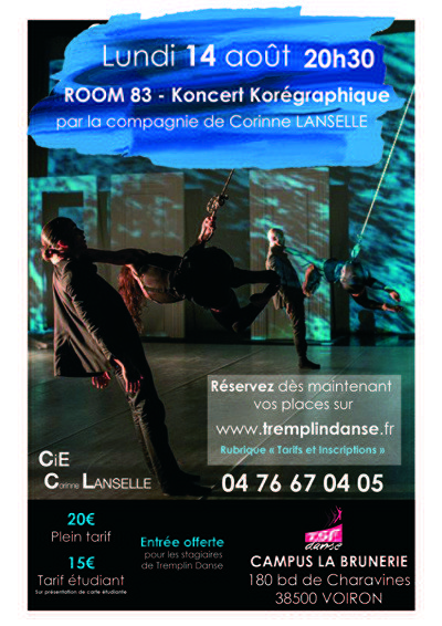 ROOM 83 - Koncert Korégraphique par Corinne Lanselle