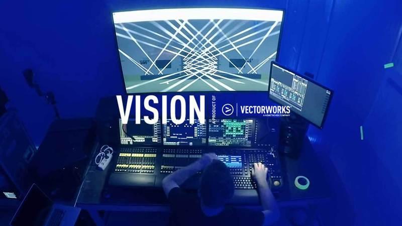 Vectorworks Vision   Plan de feu lumière 3D en temps réel