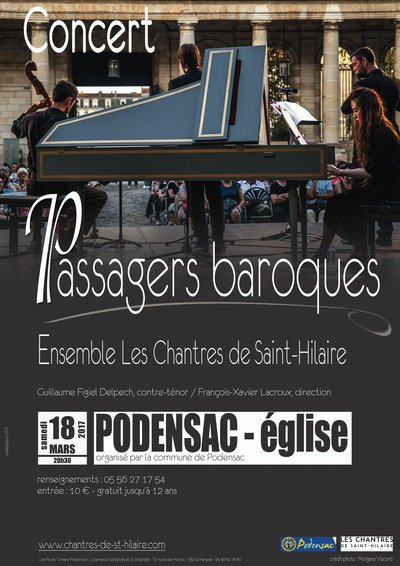 "Concert ""Passagers Baroques"""