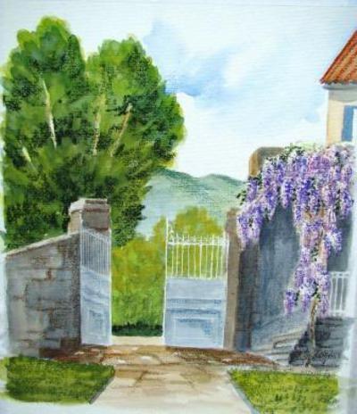 Stage de peinture , aquarelle , et techniques de peinture en Auvergne