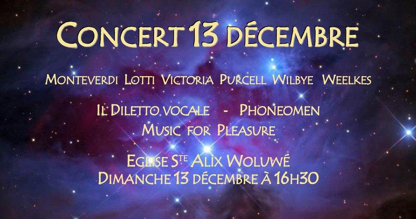 Concert renaissance au profit d'AlterAfrique Sénégal.