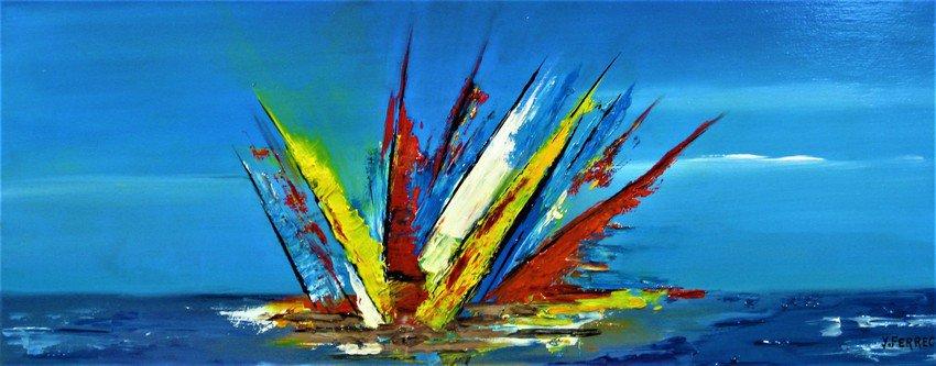 """ Rêve d'Océan""    Exposition du Peinture Yves FERREC"