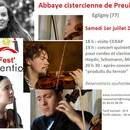 Fest'inventio : Concert à l'abbaye cistercienne de Preuilly (Egligny)