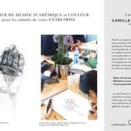 Cours de Dessin Académique + Couleur - pour les Salariés Entreprises