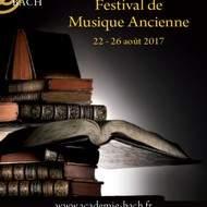 Festival de Musique Ancienne de l'Académie Bach