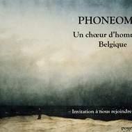 Phoneomen choeur d'hommes en belgique
