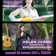 Une soirée Deux concerts Helen Juren et Kelka