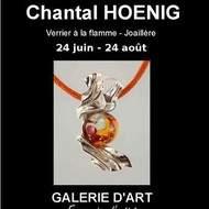 Chantal Hoenig Verrier à la flamme, joaillerie.