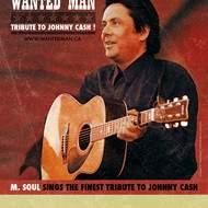M.SOUL Présente son Hommage à Johnny Cash.