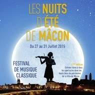 Festival Les Nuits d'été de Mâcon du 27 au 31 juillet