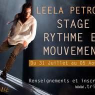 LEELA PETRONIO Rythme et Mouvement