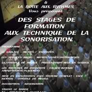 Stage de Formation aux techniques de Sonorisation