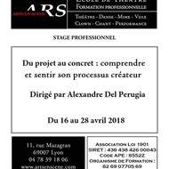 Stage professionnel « Du projet au concret »