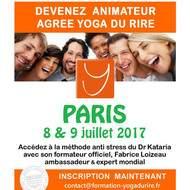 Devenez Animateur Agréé de Yoga du Rire à Paris