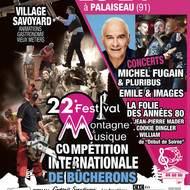 le 22ème festival montagne & musique à Palaiseau (91)