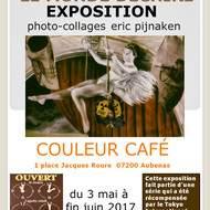 """Mini EXPO """"Le Monde Déchiré"""" -photo-collages- eric pijnaken"""