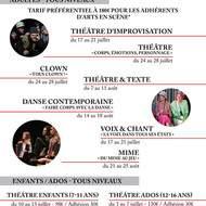 Stage été clown à Arts en Scène - Tous clowns !
