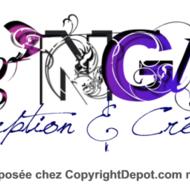 """""""Tag'N Glyph"""" - création et conception de marque et logo"""