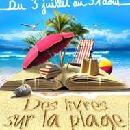 Des livres sur la plage