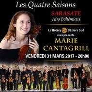 Marie Cantagrill, l'OCA et Vivaldi à Béziers!