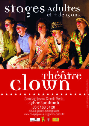 Stages de Clown pour adultes et adolescents